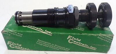 Fluid Controls Hydraulic Control Relief Valve 1Pa10-R-30S 2-75