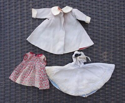 Madame Alexander Lot of 1940's – 50's Doll Clothing