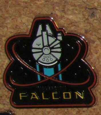 D28 Pin TRADING DISNEY FALCON  STAR WARS free ship on add pins