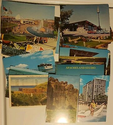 Lot of 30 vintage postcards 1930 to 1970s some circulated some uncirculated