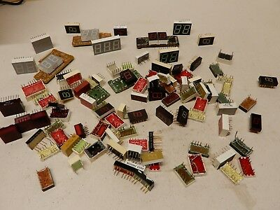 Huge Lot of Seven Segment LED Displays