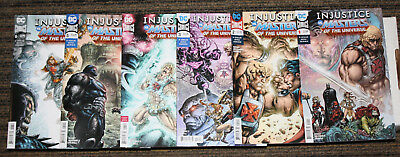 DC Injustice vs Masters of the Universe #1-6 COMPLETE SET  ALL A Covers ALL 1sts