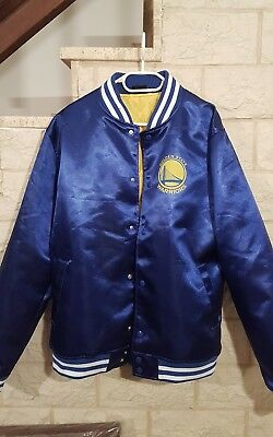 811aeda370a9c NEW ERA - NBA Golden State Warriors Tip Off Sateen Bomber Jacke ...