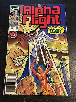 Alpha Flight#83 Incredible Condition 9.2(1990) Llan App,Sherman Art
