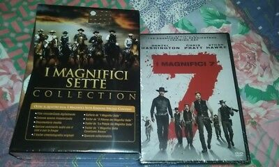 cofanetto+4 dvd sig I MAGNIFICI SETTE 7 COLLECTION+HOSTILES-OSTILI ver Italiana