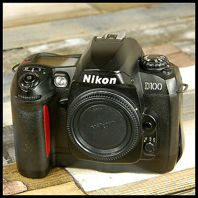 BARGAIN Nikon D100 Digital SLR Camera with battery and charger