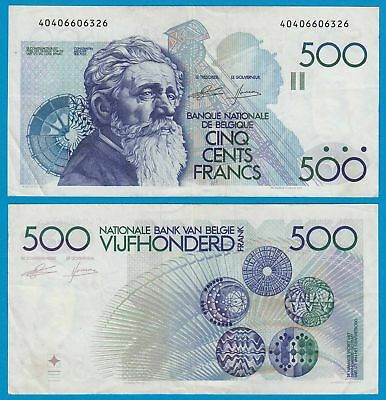 Belgien - Belgium 500 Francs ND (1982-98) Pick 143 VF     (19120