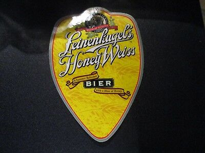 LEINENKUGELS HONEY WEISS BIER Wisconsin STICKER craft beer brewery brewing