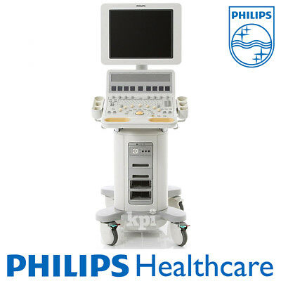 """HD15 Ultrasound by Philips Healthcare Machine - System ONLY with 20"""" LCD SCN"""