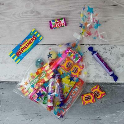 Pre Filled Sweet Bags, Birthday Party Favours, Kids Star Cello Candy Bag
