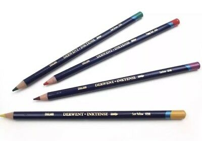 Derwent Inktense Artists Water-Soluble Colour Ink Pencils 7 colours available