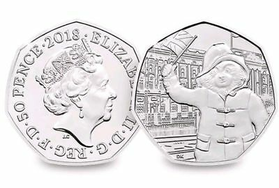 Paddington 50p Fifty Pence At Buckingham Palace 2018 Coin Rare Collectible