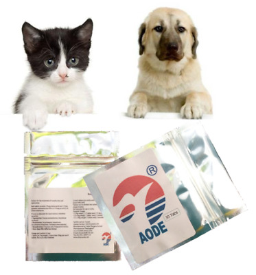 30-150 TABS DOG Cat pig Sheep chicken Pet Animal Wormer Worming
