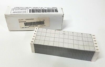 New Graphic Controls 1P31001483 Recording Chart Paper Yokogawa B956BRB  100mm