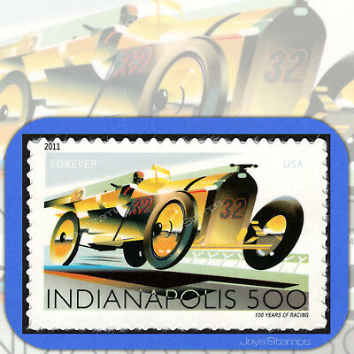 2011  INDIANAPOLIS 500  Single USPS Forever®  First Class Stamp  Scott # 4530