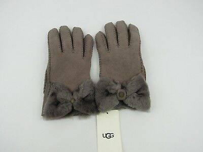 546cb0cb5d6 UGG TENNEY SUEDE Stormy Grey Shearling Size Large Womens - $101.15 ...