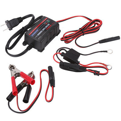 12V Car Truck SUV Battery Automatic Float Charger Trickle Maintainer Tender