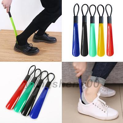 Easy Reach Shoes Remover Shoehorn 28cm Long Shoe Horn Handled Aid Slip 5 Colors