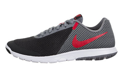 a9a2f184cc285a Nike Flex Experience RN 6 Black Grey Red White 881802-011 Men s Running  Shoes