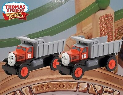 Thomas Friends Wooden Railway 2007 Max Monty Lc99034 Rare Wcharacter Cards