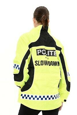 """Equisafety """"POLITE"""" Lightweight relective High Visibility Jacket"""