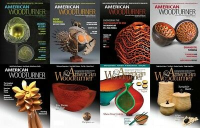 American Woodturner Magazine Collection Dvd-Rom