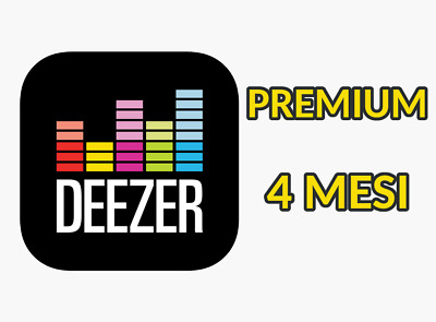 Deezer PREMIUM 4 MESI - ACCOUNT PRIVATO - Cambio PASSWORD - con GARANZIA