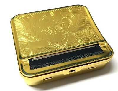 Gold Automatic Quality Blind Rolling Machine Cigarette Metal Roller Tin Box