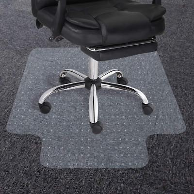 120x90cm Frosted Non Slip Chair Desk Mat Floor Carpet Protector PVC Plastic