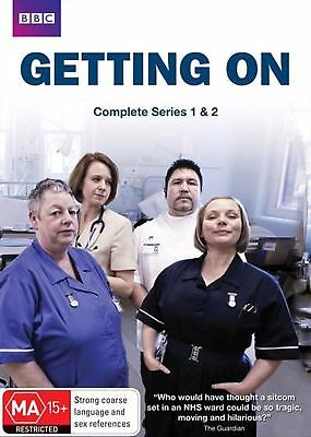 Getting On: Series 1& 2 (DVD, 2-Disc Set)   Region 4 - New and Sealed