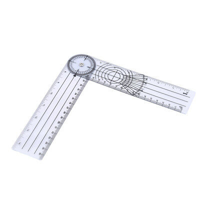 Adjustable Medical Spinal Goniometer Angle Protractor Angle Ruler Stationery CB