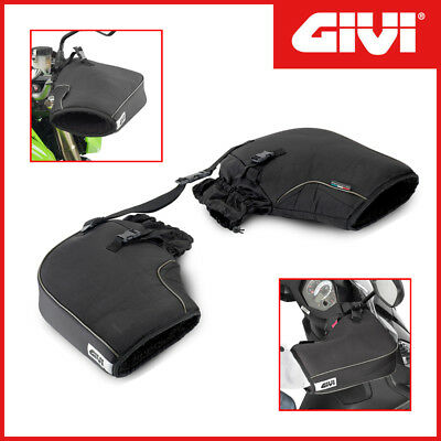 Handlebar Muffs/hand Guards In Polyester Givi Tm418 Universal Motorcycle/scooter