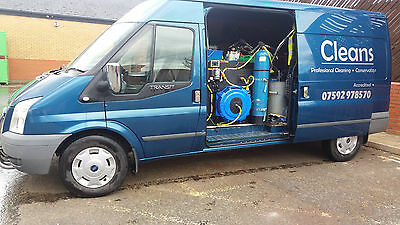 Commercial & Domestic Cleaning Business & Van  [ NO VAT TO ADD ]
