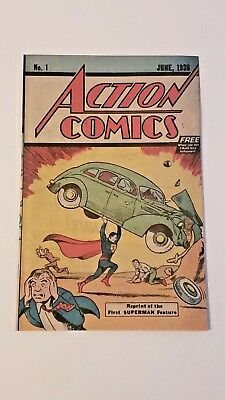 Action Comics #1 1976 Safeguard Reprint