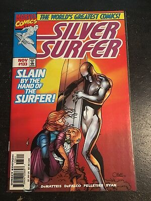 Silver Surfer#133 Incredible Condition 9.4(1997) Mephisto,Puppet Master!!