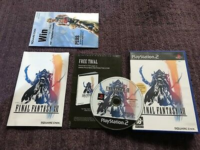 FINAL FANTASY XII / 12 for PlayStation 2 with Lmt Ed