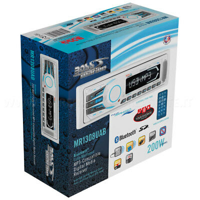 STEREO BOSS MARINE MR1308UAB mp3 BLUETOOTH SD USB AUX con telecomando