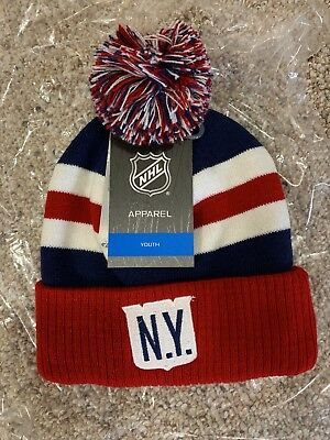NEW YORK RANGERS NHL 2018 Winter Classic Youth Knit Hat  READ ... cfea2011a98