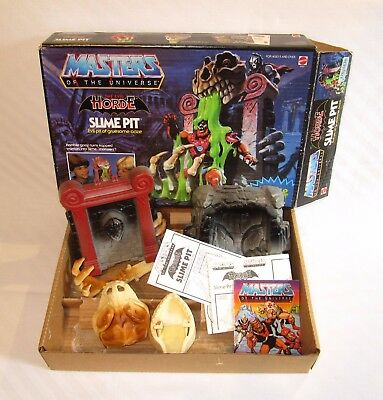 SLIME PIT (+Anleitung/Instructions +OVP/Box +Comic) - Masters of the Universe