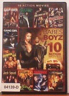 DVD Movie 10 FEATURED ACTION PACKED FILMS IN 1 in Original Jacket