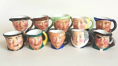 """Lot Of 10 THORLEY China Cups 1.5"""" Tall"""