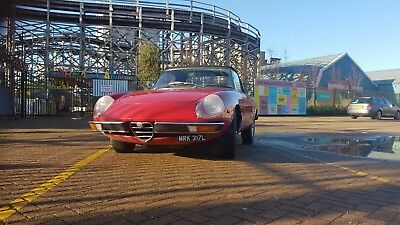 1972 Alfa Romeo 2000 Spider Convertible Veloce Kamm Tail Classic Car Collectors
