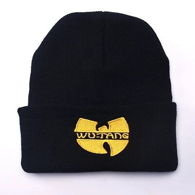 Wu Tang Clan 90s Rap Hip Hop Music Embroidered Beanie Winter Snow Knit Hat NEW
