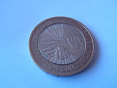 2010 Florence Nightingale £2 Pound Coin.