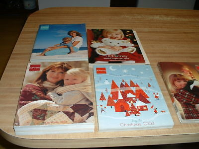 Five Vintage JC Penny Catalogs