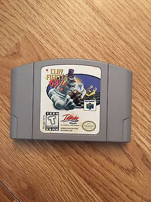 Clay Fighter 63 1/3 Nintendo 64 N64 Game BB1