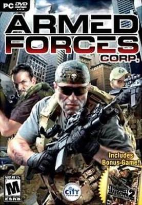 """ LOOK "" !!!!!    Armed Forces Corp+Terrorist Takedown 2 PC XP/Vista"