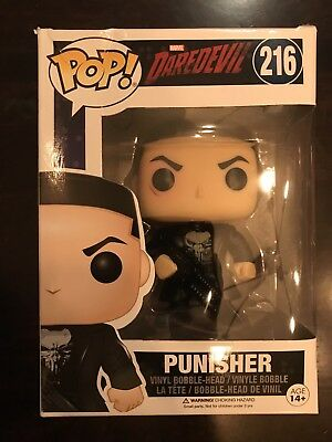 Funko POP Vinyl 216 Punisher from Daredevil! Netflix!