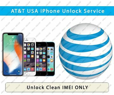 UNLOCK AT&T iPhone Xs Max/Xs/Xr/X/8/8+/7/7+/6S/6S+/SE/5S/5S 60% success