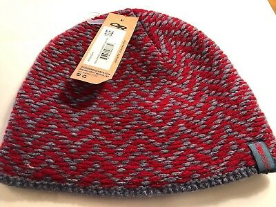 ac88b68eec7 WOMEN S OR OUTDOOR RESEARCH Ember beanie wool Blend o s hat New Red ...